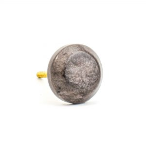 Round Metallic Cola Knob