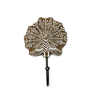 Peafowl Mandala Wall Hook