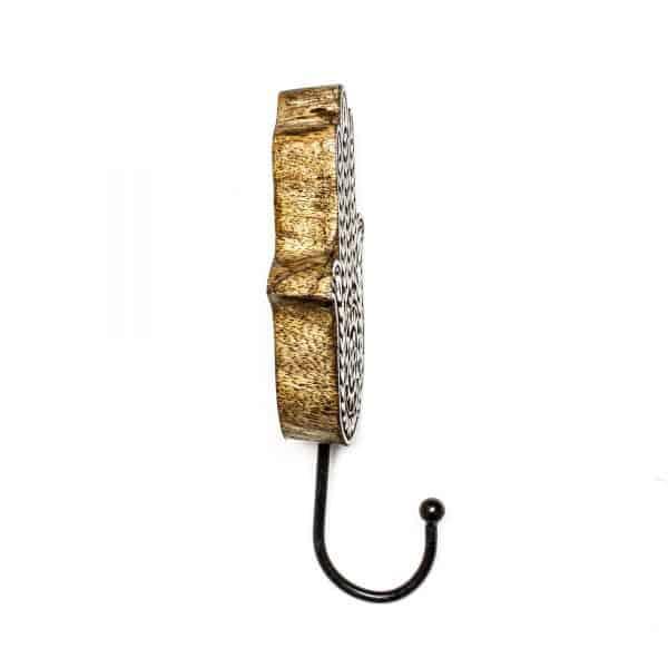Hamsa Hand Mandala Wall Hook