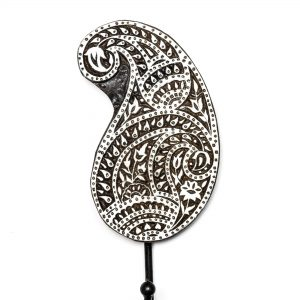 Paisley Teardrop Mandala Wall Hook