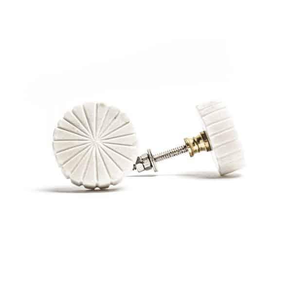 Flat Wheel Marble Knob