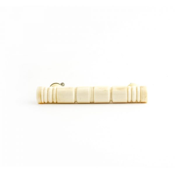 Carved White Bone Drawer Handle