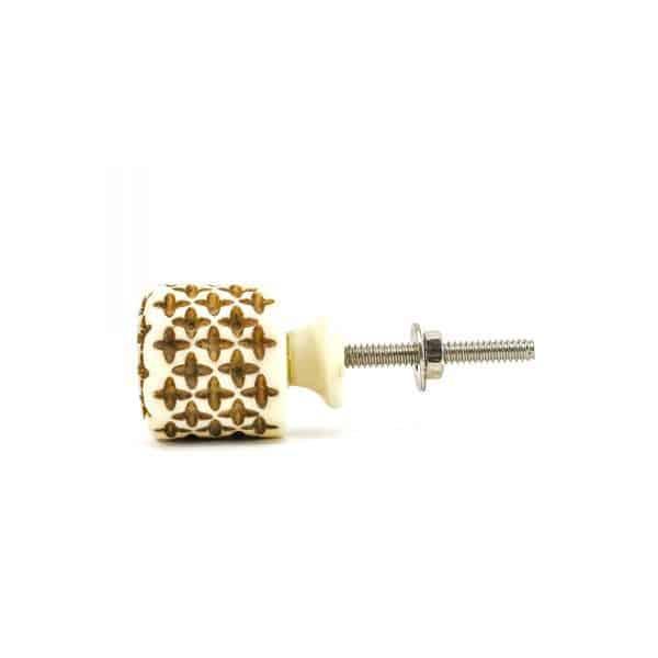 Small Cylinder Bohemian Knob