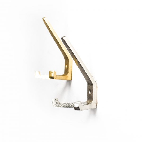 Gold 3-Point Wall Hook