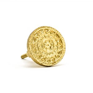 Gold Jupiter Star Knob