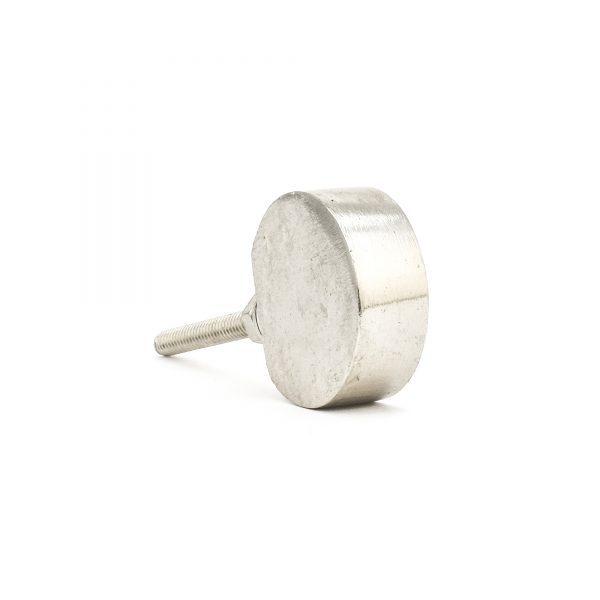 Silver Sliced Sphere Knob