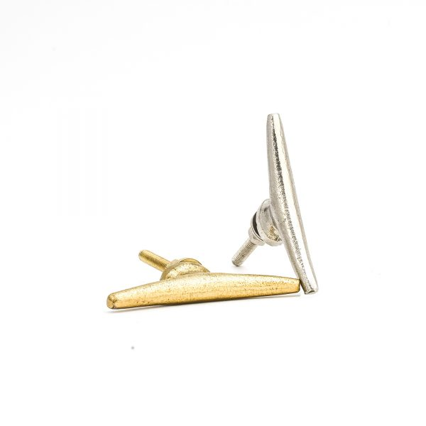 Sleek Gold Iron Pull