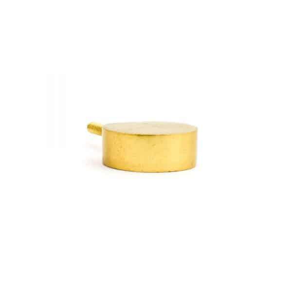 Gold Sliced Sphere Knob