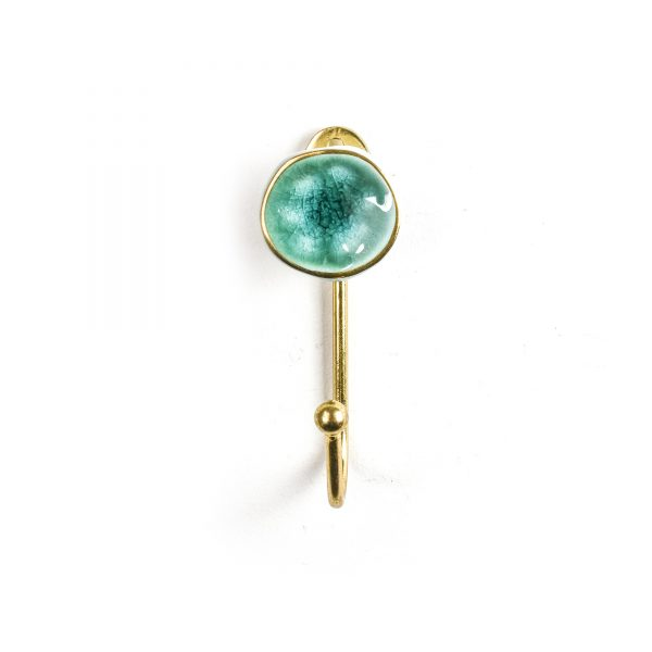 Sea Green Crater Wall Hook