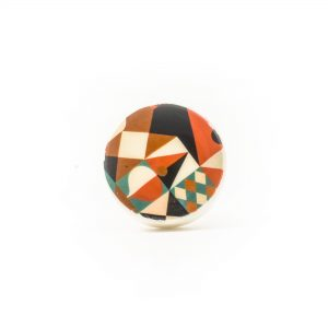 Abstract Enamel Knob