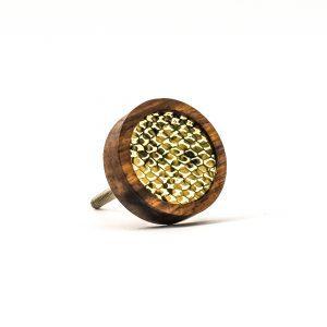 Textile Snake Pattern Knob