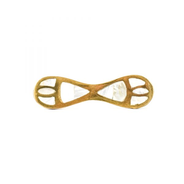 Gold and Shell Infinity Handle