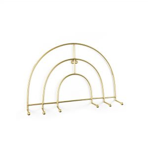 DSC 3722 gold wire rainbow wall hook 300x300 - Shop for Cabinet Handles, Cabinet Pulls & Wall Hooks