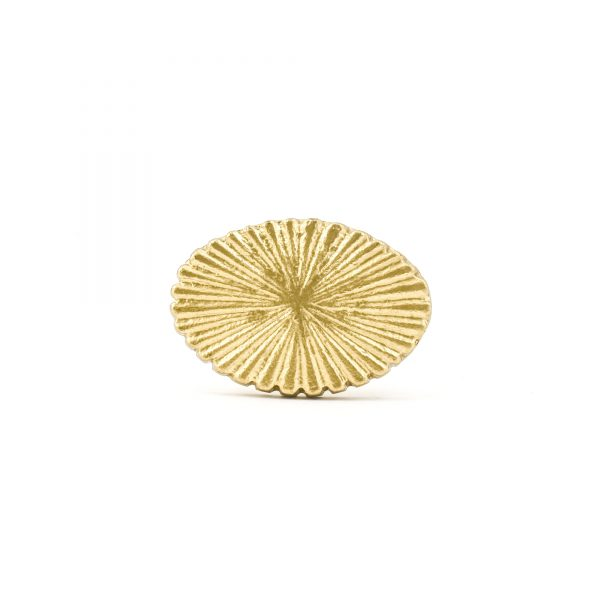 Gold Radial Iron Knob