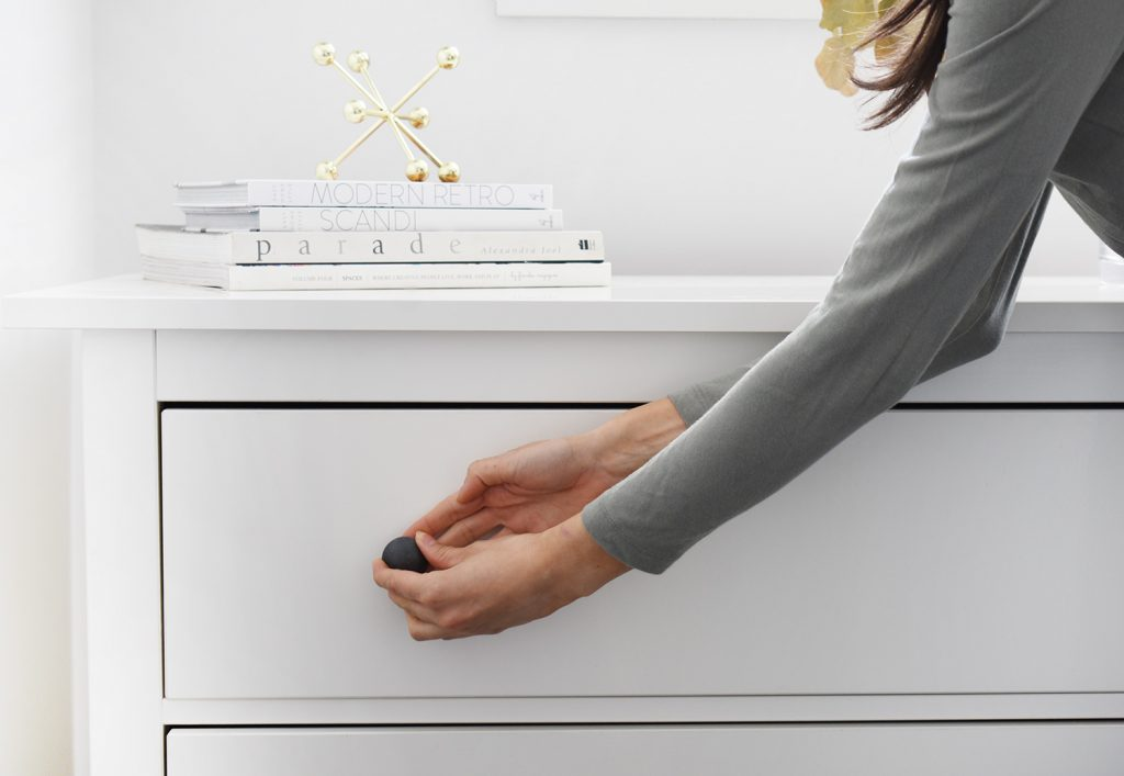 1A. REMOVE OLD KNOBS  1024x707 - How to Install Cabinet Knobs, Cabinet Handles & Pulls