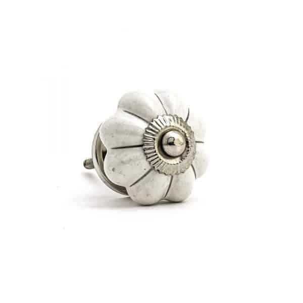 Silver Lined Melon Knob