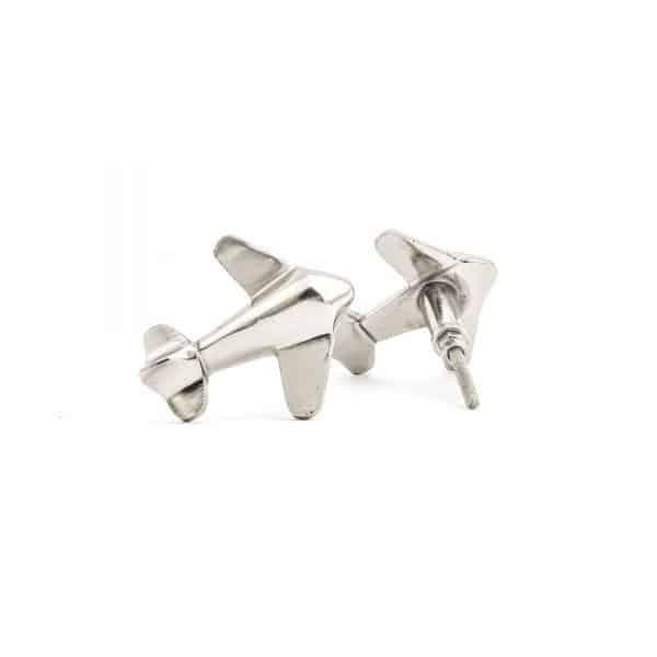Silver Aeroplane Knob