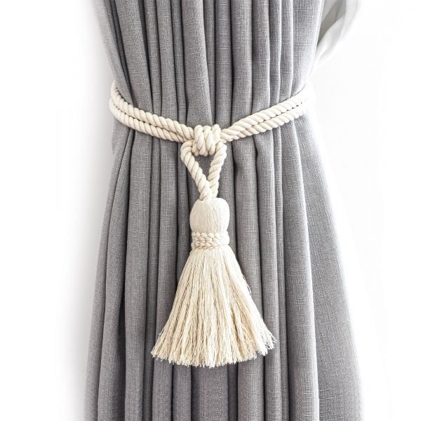 Classic Cotton Tassel Curtain Tie Back