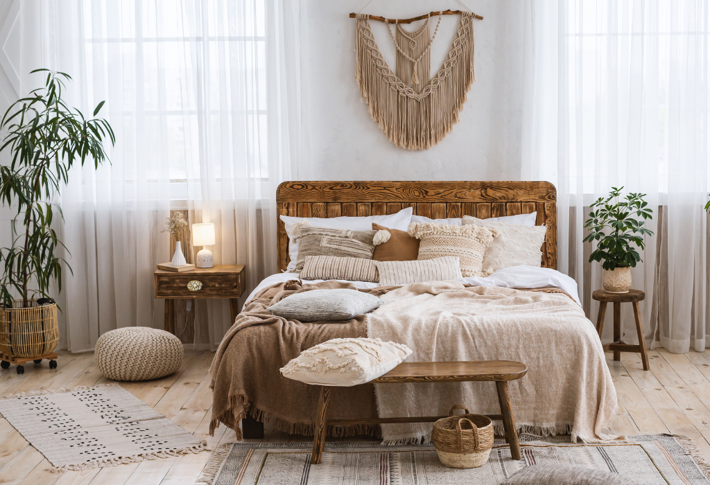 Boho oval - Weekend Project: How to Do.Up your Bedside Table