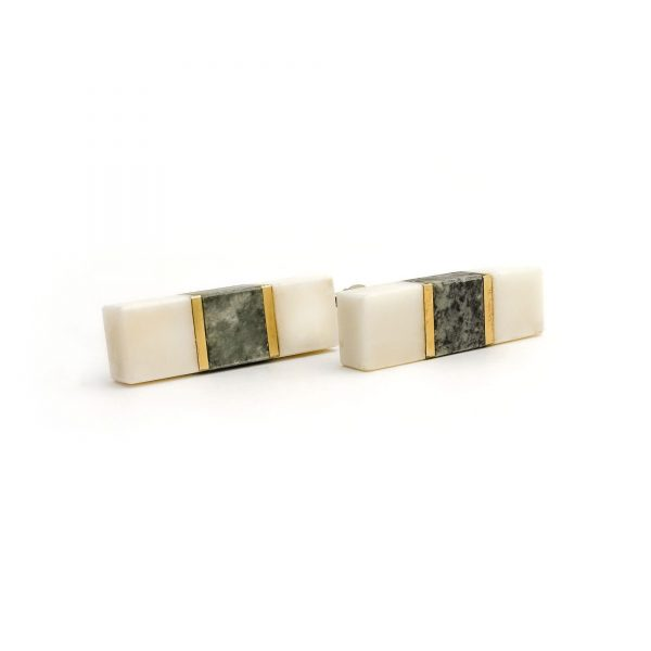 White Marble and Granite Pull