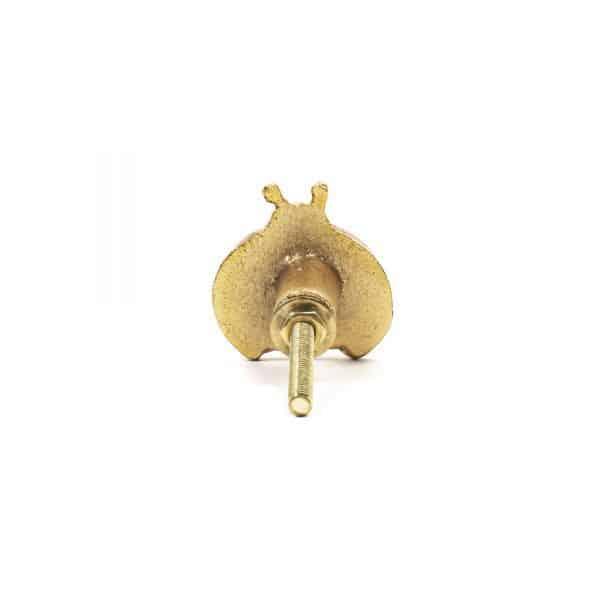 Gold Ladybug Knob