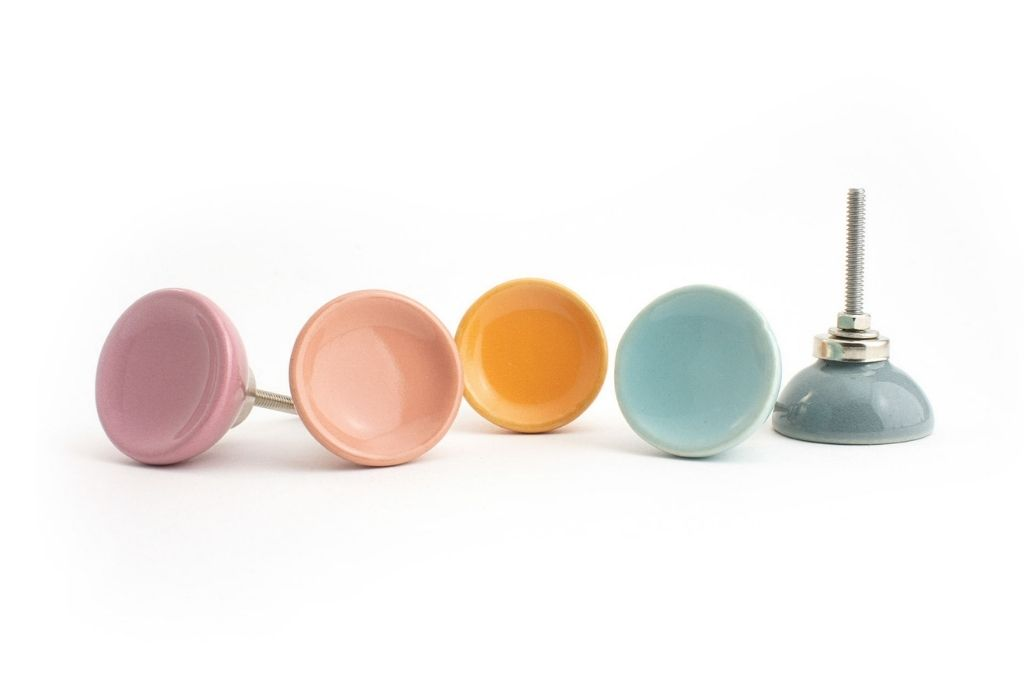 Ceramic disc knobs group 1 - How to Apply Colour Psychology to your Interior Styling and Design