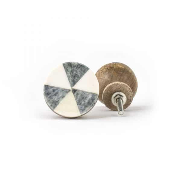 Rustic Bone Wheel Knob