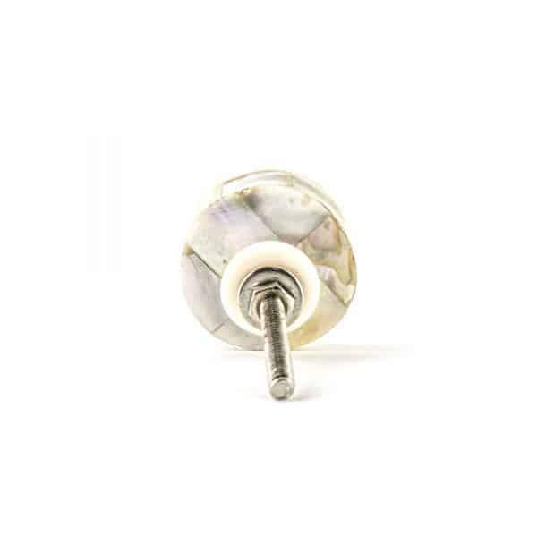 Pearled Shell Knob