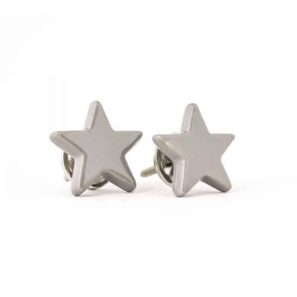 Grey Ceramic Star Knob