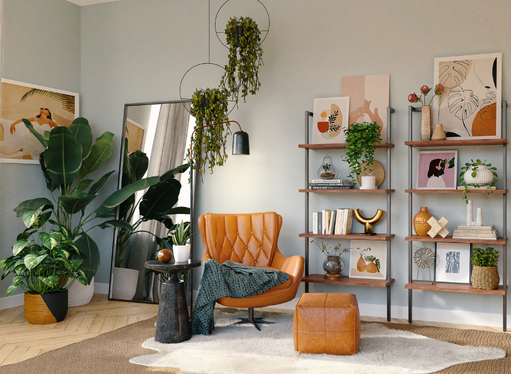The Green Room 4 - The Green Room: Interior Decorating with Plants