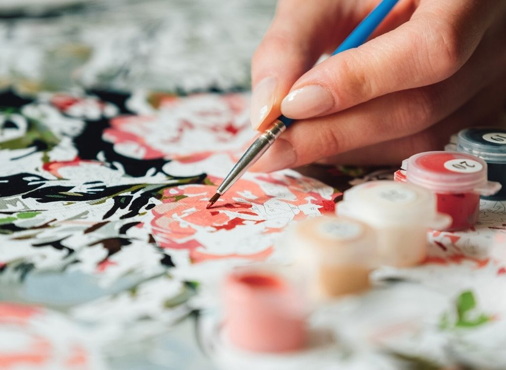 paint by numbers - Top 10 Lockdown Hobbies to Stave Off the 'Iso' Scaries